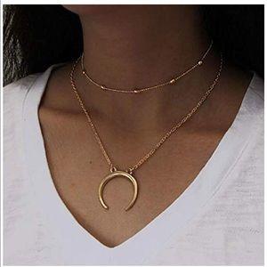 🎀NEW Choker Necklace Set Moon 🎀